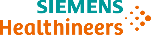 The Siemens Healthineers logo — The word Siemens in light green on top of the word Healthineers in orange next to an illustration of orange dots. Siemens Healthineers is a .NET customer.